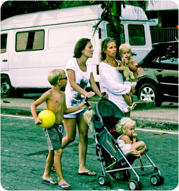 Dia da rua - familia
