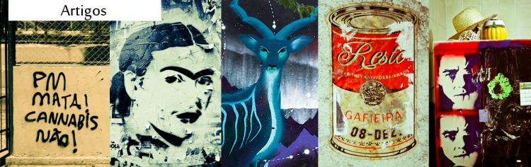 Seleção de artigos sobre a ocupação das vias urbanas pela expressão artística.