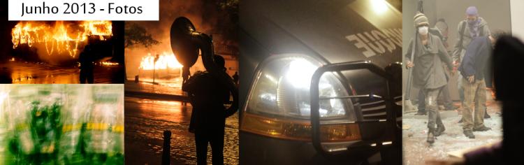Cobertura fotográfica das principais manifestações de 2013 - de junho a outubro.