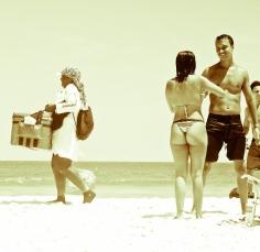 Um dia na praia de antigamente-4